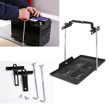 "5.31-7.87"" Width Adjustable ABS Plastic Battery Tray & Clamp Kit Slots Design"
