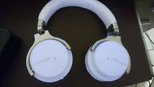 GuruGear Active Noise Cancelling Bluetooth Wireless Over-Ear Headphones - White/
