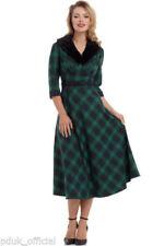 V-Neck 3/4 Sleeve Dresses Winter