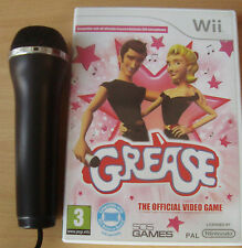Grease The Video Game Greased Lightning Sandy Summer Nights Microphone Wii Game!