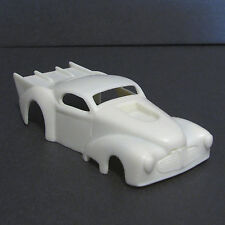 JFSL48 Jimmy Flintstone Resin HO Scale 1941 Chevy Pro Mod Slot Car Body