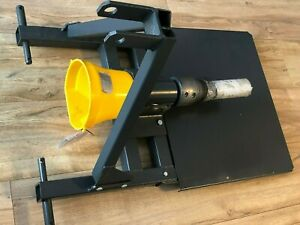 TRACTOR LOG SPLITTER WOOD TIMBER CUTTER SCREW TYPE POWERED FROM PTO Fits any Tra