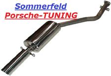 Porsche 924 S 2,5 + 944 2,5 + 2,7 8V Auspuff Sportauspuff Sport Exhaust Muffler