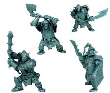 MOUNTAIN ORCS 54mm (Tehnolog, soft plastic) Armored Trolls