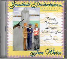 Jim Weiss: Twenty Thousand Leagues Under the Sea Greathall Prod -Audiobook on CD