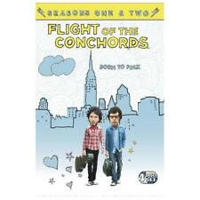 Flight Of The Conchords Season 1+2 TV Series 4xDVDs R4