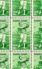 1981 - BOBBY JONES - #1933 Full Mint -MNH- Sheet of 50 Postage Stamps