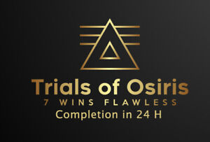 Trials of Osiris Flawless PS4/PS5