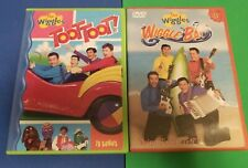 WIGGLES - Lot of 2 DVDs - TOOT TOOT! & WIGGLE BAY