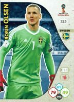 Panini Adrenalyn XL World Cup 2018 Russie Coupe Du Monde Numéro 325 Robin Olsen