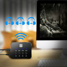 3in1 Portable Bluetooth Splitter 3.5mm Audio Sharing Fast Transmitter Adapters D