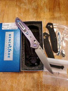 Benchmade 943, Custom Titanium Setup