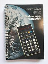 HP25 Bedienungs-Handbuch.