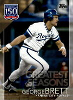 2019 Topps Series 2 150 Years Greatest Seasons #GS-14 GEORGE BRETT Royals