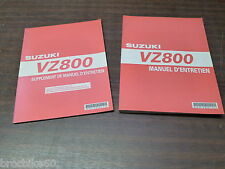 MANUEL REVUE TECHNIQUE D ATELIER SUZUKI VZ 800 MARAUDER 2005 - 2009 -> VZ800