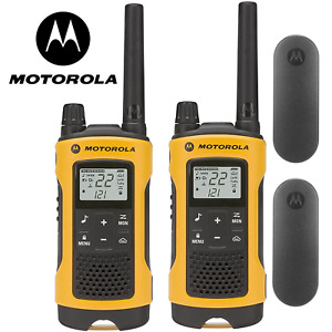Motorola Talkabout T402 Walkie Talkie Set 35 Mile Two Way Radio Waterproof