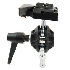 Manfrotto 155RC Doppelkugelkopf & Kamera Schnellwechselplatte 323 piastra rapida