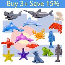 *New* Lego Sea Animal Pick Parts Bulk Ocean Dolphin Shark Fish Crab City Boat
