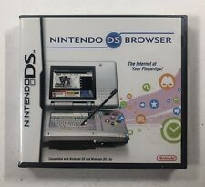 Nintendo DS Browser - Nintendo DS - BRAND NEW - Factory Sealed - B