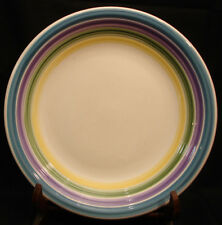 Candy Stripe by Gibson Designs DINNER PLATE 11 3/8""