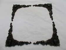 MIRROR FRAME OR PICTURE FRAME BLACK ORNATE LOVE HEART CORNER MOULDINGS