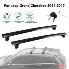 For 11-18 Jeep Grand Cherokee Overland Limited  Models Top Roof Rack Cross Bar
