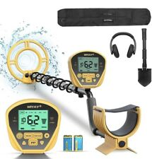 Miyay Metal Detector, Lightweight & Adjustable. 10� Search Coil, With Shovel.