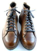 "Allen Edmonds ""ALPINE"" Lace-to-Toe WEATHERPROOF Boots 10.5 D Tan USA (495)"