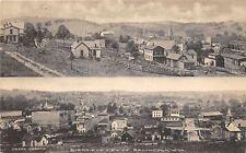 F2/ Belington West Virginia Postcard c1910 2View Homes Church Stores