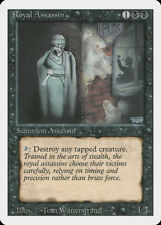 Royal Assassin Revised HEAVILY PLD Black Rare MAGIC THE GATHERING CARD ABUGames