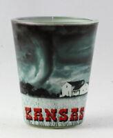 Kansas Tornado Scene Shot Glass rtp