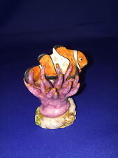 CLOWNFISH ANEMONE BY NEIL EYRE DESIGN 2007 MEMBER PIECE Marble resin