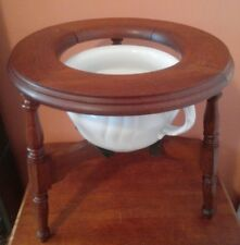Patent April 1, 1875 Stagecoach Portable Folding Toilet  Chamber Commode