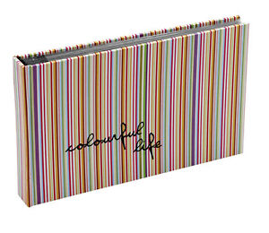 10x Hardback Stripped 15 Sheets 30 Photos Slip In Photo Album By Katz 0706C-PA