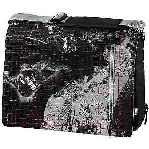 """Hama Aha Padded Laptop Messenger Bag, Shoulder Strap up to 15.4"""" Screen Size"""