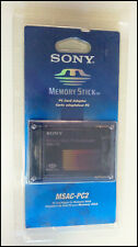 Sony Memory Stick PC Card Adapter MSAC-PC2, new in original packaging