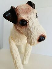 Fox Terrier Dog Mannequin Retail Store Display Vets Used Good Condition