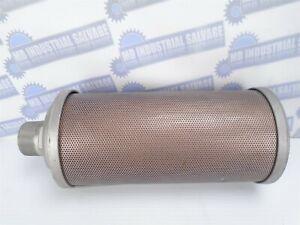 "ALWITCO - ATOMUFFLER - X15 - 0375015 - 1-1/2"" Male NPT Air Dryer Muffler -(NEW)"