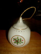 LENOX HOLIDAY PAIR OF POTPOURRI HANGING ORNAMENTS  MADE IN USA