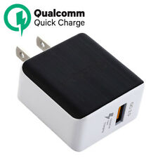USB Wall Charger QualComm QC3.0 Quick Charger For iPhone X Samsung Galaxy S9+ LG