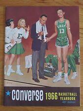 1966 CONVERSE Basketball Yearbook BOB DAVIES DAVID BING CAZZIE RUSSELL