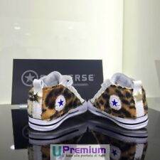 Converse All Star Newborn Leopard Pony [Product Customized] Shoes