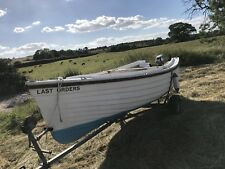 sea fishing boat 16ft with trailer