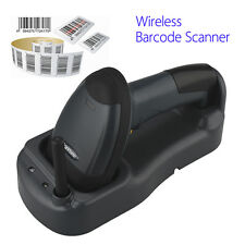 Skypix Wireless Cordless Portable Barcode Laser Scanner Inductive Charging 300M