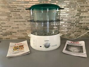 T-FAL STEAM CUISINE  FOOD STEAMER/RICE COOKER CODE# 364676 Type S02 CLEAN NNC