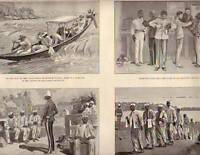 1895 British in Venezuela and Guiana Gold with convicts