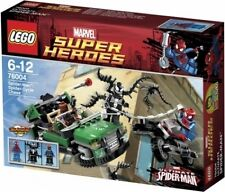 76004 SPIDER-MAN SPIDER-CYCLE CHASE lego legos set NEW marvel super heroes venom