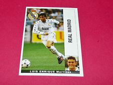 LUIS ENRIQUE FUTBOL REAL MADRID PANINI LIGA 95-96 ESPANA 1995-1996 FOOTBALL