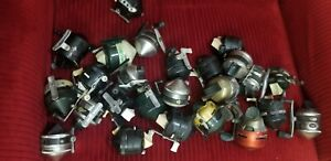 Lot Of ZEBCO reels. Some Metal Foot Some Plastic Most are usable as is