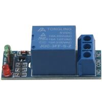 2PCS 1 Channel DC 5V Relay Switch Module for Arduino Raspberry Pi ARM AVR A1M4
